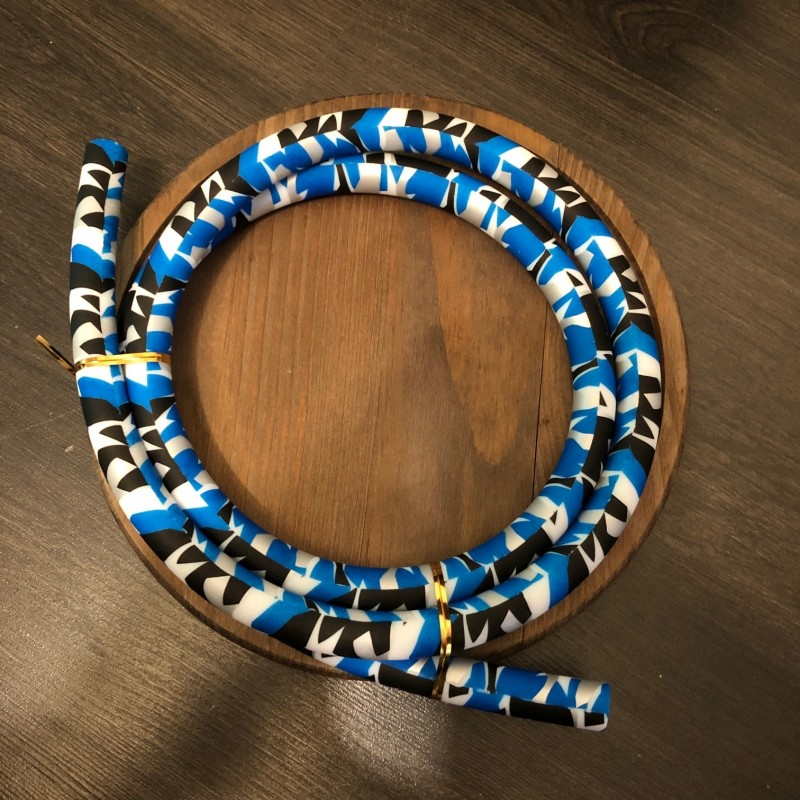 Silicone camouflage bleu -  Accessoires chicha
