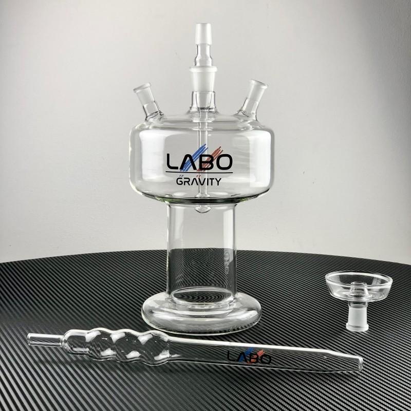Chicha Gravity L -  Narguilés et chicha en verre de laboratoire